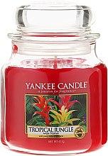 Parfüm, Parfüméria, kozmetikum Illatgyertya üvegben - Yankee Candle Tropical Jungle