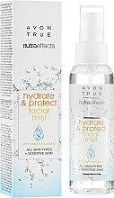 Parfüm, Parfüméria, kozmetikum Arcpermet - Avon True Nutra Effect Hydrate & Protect Facial Mist
