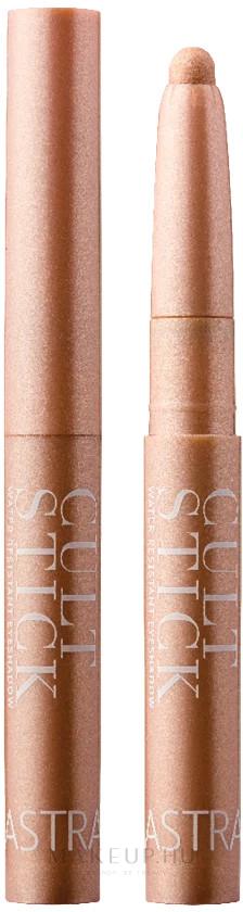 Vízálló szemhéjfesték ceruza - Astra Make-Up Cultstick Water Resistant Eyeshadow — fotó 01 - Sparkling Grease