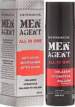 Parfüm, Parfüméria, kozmetikum Arckrém balzsam - Dermacol Men Agent All In One