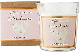 "Parfüm, Parfüméria, kozmetikum Illatgyertya ""Orchidea"" - Ambientair Le Jardin de Julie Orchidee"