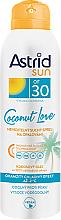 Parfüm, Parfüméria, kozmetikum Száraz napvédő spray SPF30 - Astrid Dry Sun Spray Coconut Love SPF30
