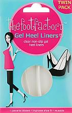 Parfüm, Parfüméria, kozmetikum Géles talpbetét - The Foot Factory Gel Heel Liner Twin Pack