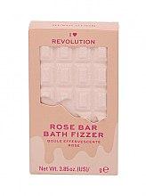 "Parfüm, Parfüméria, kozmetikum Fürdőgolyó - I Heart Revolution Chocolate Bar Bath Fizzer ""Rose"""