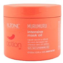 Parfüm, Parfüméria, kozmetikum Maszk száraz és sérült hajra - H.Zone Option Murumuru Intensivr Mask Oil