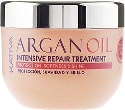Intenzív hidratáló regeneráló hajmaszk argánolajjal - Kativa Argan Oil Intensive Repair Treatment — fotó N5