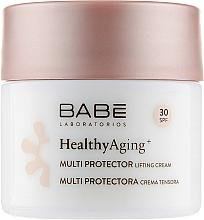 Parfüm, Parfüméria, kozmetikum Nappali lifting krém multivédelemmel és DMAE SPF 30 - Babe Laboratorios Healthy Aging Multi Protector Lifting Cream