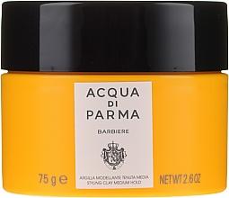 Parfüm, Parfüméria, kozmetikum Hajformázó agyag közepes rögzítéssel - Acqua Di Parma Barbiere The Styling Clay Medium Hold