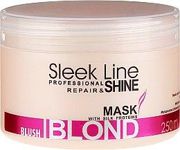 Parfüm, Parfüméria, kozmetikum Hajmaszk - Stapiz Sleek Line Blush Blond Mask
