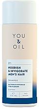 """Parfüm, Parfüméria, kozmetikum Sampon """"Tápláló és frissítő"""" - You&Oil Nourish & Invigorate Men's Hair Shampoo"""