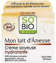 Parfüm, Parfüméria, kozmetikum Hidratáló krém szamártejjel - So'Bio Etic Mon Lait d'Anesse Silky Moisturizing Cream