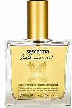 Parfüm, Parfüméria, kozmetikum Univerzális tápláló olaj - SesDerma Laboratories Sublime Oil
