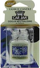 Parfüm, Parfüméria, kozmetikum Autóillatosító - Yankee Candle Car Jar Ultimate Midnight Jasmine