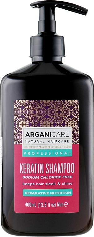 Keratin sampon minden hajtípusra - Arganicare Keratin Shampoo