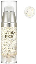 Parfüm, Parfüméria, kozmetikum Primer-szérum - Holika Holika Naked Face Gold Serum Primer