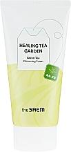 Parfüm, Parfüméria, kozmetikum Arctisztító hab - The Saem Healing Tea Garden Green Tea Cleansing Foam