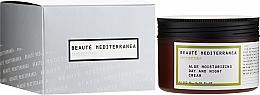 "Parfüm, Parfüméria, kozmetikum Hidratáló arckrém ""Aloe"" - Beaute Mediterranea Aloe Moisturizing Day And Night Cream"