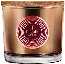 """Parfüm, Parfüméria, kozmetikum Illatgyertya pohárban """"Mézeskalács"""" - Flagolie Fragranced Candle Gingerbread"""