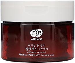 Parfüm, Parfüméria, kozmetikum Tisztító korong - Whamisa Organic Flowers Peeling Finger Mitt Moisture Care