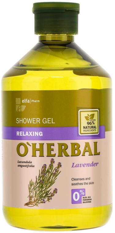 Relaxáló tusfürdő levendula kivonattal - O'Herbal Relaxing Shower Gel
