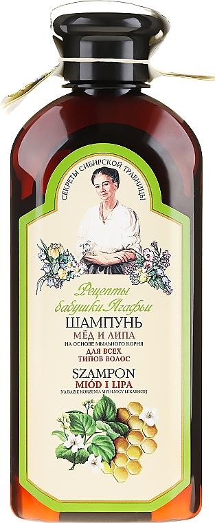 """Sampon """"Méz és hársfa"""" - Agáta nagymama receptjei"""