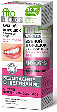 Parfüm, Parfüméria, kozmetikum Fogpor érzékeny fogakra - Fito Kozmetikum