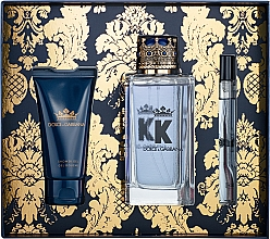 Parfüm, Parfüméria, kozmetikum Dolce&Gabbana K by Dolce&Gabbana - Szett (edt/100ml + sh/gel/50ml + edt/mini/10ml)