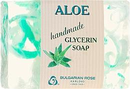"Parfüm, Parfüméria, kozmetikum Glicerin szappan ""Aloe"" - Bulgarian Rose Green Cherry Aloe Soap"