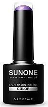 Parfüm, Parfüméria, kozmetikum Hibrid gél-lakk - Sunone UV/LED Gel Polish Color