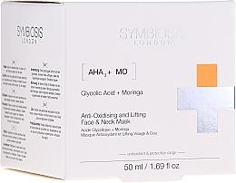 Parfüm, Parfüméria, kozmetikum Antioxidáns lifting maszk arcra és nyakra - Symbiosis London Anti-oxidising And Lifting Face & Neck Mask