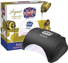 Parfüm, Parfüméria, kozmetikum LED lámpa, fekete - Ronney Professional Agnes LED 48W (GY-LED-032)