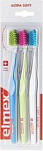 Parfüm, Parfüméria, kozmetikum Fogkefék, ultra lágy, kék + zöld + fehér - Elmex Swiss Made