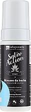 Parfüm, Parfüméria, kozmetikum Borotválkozó mousse - La Saponaria Sativ Action Shaving Mousse