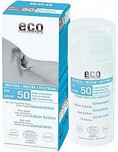 Parfüm, Parfüméria, kozmetikum Napvédő testápoló, illatmentes - Eco Cosmetics Sun Lotion SPF 50