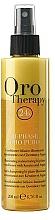 Parfüm, Parfüméria, kozmetikum Helyreállító kétfázisú spray-kondicionáló keratinnal - Fanola Oro Therapy