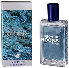 Parfüm, Parfüméria, kozmetikum Real Time Pure On The Rocks For Men - Eau De Toilette