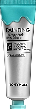 Parfüm, Parfüméria, kozmetikum Arcmaszk - Tony Moly Painting Therapy Pack Hydrating & Soothing