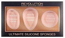 Parfüm, Parfüméria, kozmetikum Make-up szivacs szett - Makeup Revolution Ultimate Silicone Sponge Set
