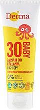 Parfüm, Parfüméria, kozmetikum Gyerek magas faktorú napvédő krém - Derma Eco Baby Sun Screen High SPF30