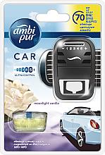 """Parfüm, Parfüméria, kozmetikum Autóillatosító készlet """"Holdfényes vanília"""" - Ambi Pur"""