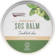 Parfüm, Parfüméria, kozmetikum Testápoló balzsam - Wooden Spoon SOS Balm Trouble Skin