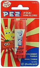 "Parfüm, Parfüméria, kozmetikum Ajakbalzsam ""Eper és vanília"" - PEZ Strawberry Vanilla Lip Balm"
