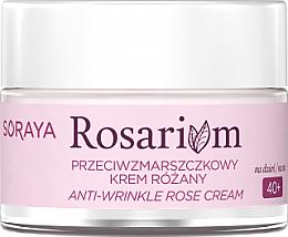 Parfüm, Parfüméria, kozmetikum Ránctalanító krém - Soraya Rosarium Anti-wrinkle Rose Cream 40+