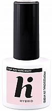 Parfüm, Parfüméria, kozmetikum Fedőlakk, matt - Hi Hybrid Top No Wipe Matt