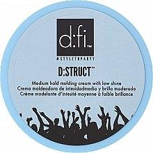 Parfüm, Parfüméria, kozmetikum Hajformázó krém - D:fi D:struct Medium Hold Molding Cream