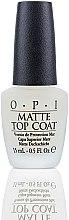Parfüm, Parfüméria, kozmetikum Matt hatású fedőlakk - O.P.I Matte Top Coat