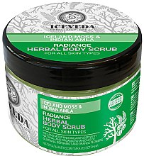 Parfüm, Parfüméria, kozmetikum Testradír - Natura Siberica Iceveda Iceland Moss&Indian Amla Radiance Herbal Body Scrub