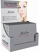 Parfüm, Parfüméria, kozmetikum Púderes mattító törlőkendő készlet, 4db+1 - Marion Mat Express
