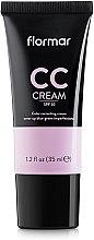 Parfüm, Parfüméria, kozmetikum Sötét karikák és pigmentfolt elfedő CC krém - Flormar CC Cream Anti-Dark Circles