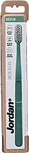 Parfüm, Parfüméria, kozmetikum Fogkefe félkemény, türkíz-zöld - Jordan Green Clean